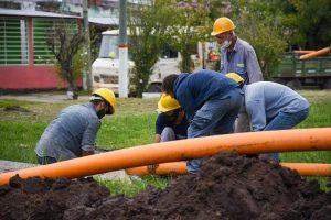 Construirán la red colectora cloacal en jurisdicción de la vecinal El Morro $ 35 Millones