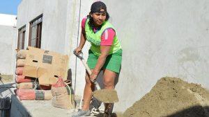 En Santa Rosa convocaron a mujeres albañiles para ejecutar obra pública