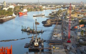 Licitan el Dragado de Adecuación del Canal Dock Sud $ 1.663 Millones