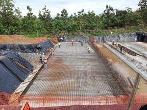 Se construye la nueva Planta Potabilizadora Punta Negra