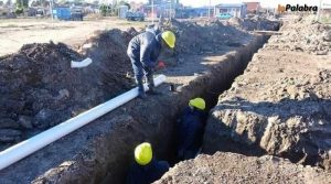 $205 Millones Reconstrucción de Caños comenzarán la obra de reparación del colector cloacal de calle Perón – Victoria