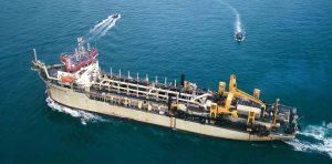 Jan de Nul Group Comenzara las obras de dragado en el estuario de Bahía Blanca