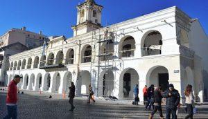 $1.642 Restauración y puesta en valor del Cabildo de Jujuy