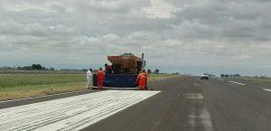 $30 Millones Reparación de la pista del aeródromo de Tandil