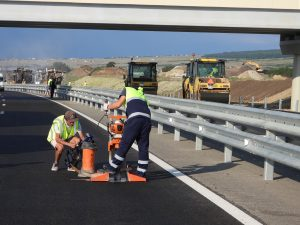 $5.000 Millones Chediack CEOSA inician la doble vía en la Ruta 40 zona que une San Jua y Mendoza 17,54 Km
