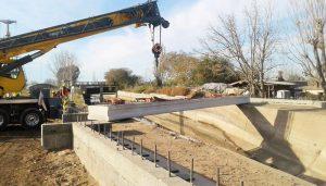 $1 Millón 2 ofertas pórticos del nuevo puente de avenida El Libertador en San Rafael