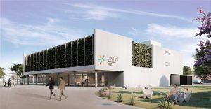$313 Millones Adjudican a Pecam el edificio central del campus de la UNRaf