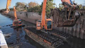 $646 Millones ILUBAIRES  ejecutara obras de mantenimiento hídrico para Lomas de Zamora A° Unamuno y El Rey