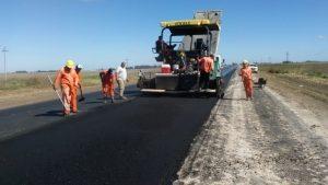 Iniciaron la repavimentación de la ruta Nº 32 entre Salto y Arroyo Dulce