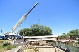 Se invertirán más de 57 millones de pesos en la ampliación del ancho del puente sobre Cañada Quiñones