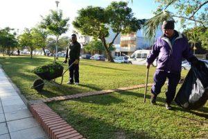 Adjudicaron el servicio de limpieza del Parque San Martín: $1.800 millones por diez años