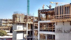 La construcción retomó el crecimiento