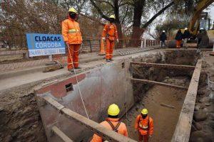 Obras de saneamiento cloacal en tres barrios de La Calera $305M