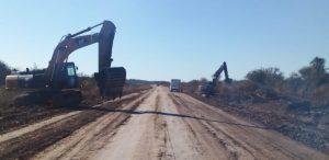 Comenzaron los trabajos sobre la RPN°36 entre Colonia Sager y Vera $933M