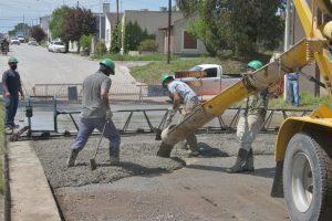 Pavimentación en hormigón en 11 cuadras Tandil $42M