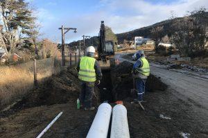 Adjudicaron Redes de agua y cloaca Bª La Bolsita Ushuaia $22M