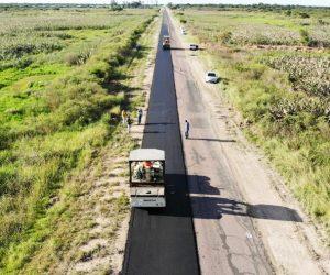 Obra básicas y pavimento flexible RP 6 Chaco $2.538M