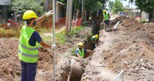 Servicio de agua y cloaca para 4 barrios de Ushuaia $65M