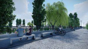 Trelew contará con el Paseo Costero y Puesta en valor del Puente Hendre $25M