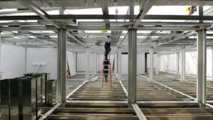 Platea y Obras Complementarias para Centro Modular Sanitario Anexo Hospital Santa -$16M