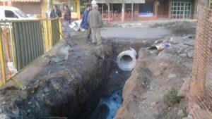 Inicia desagües en la Av. San Martín de Unquillo $84M