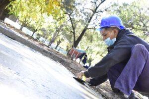 Remodelacion Plaza Barrio Buenaventura Luna, en Rawson $37M