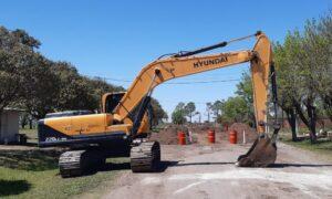 Comenzaron los trabajos para la pavimentación del acceso a Garibaldi $293M