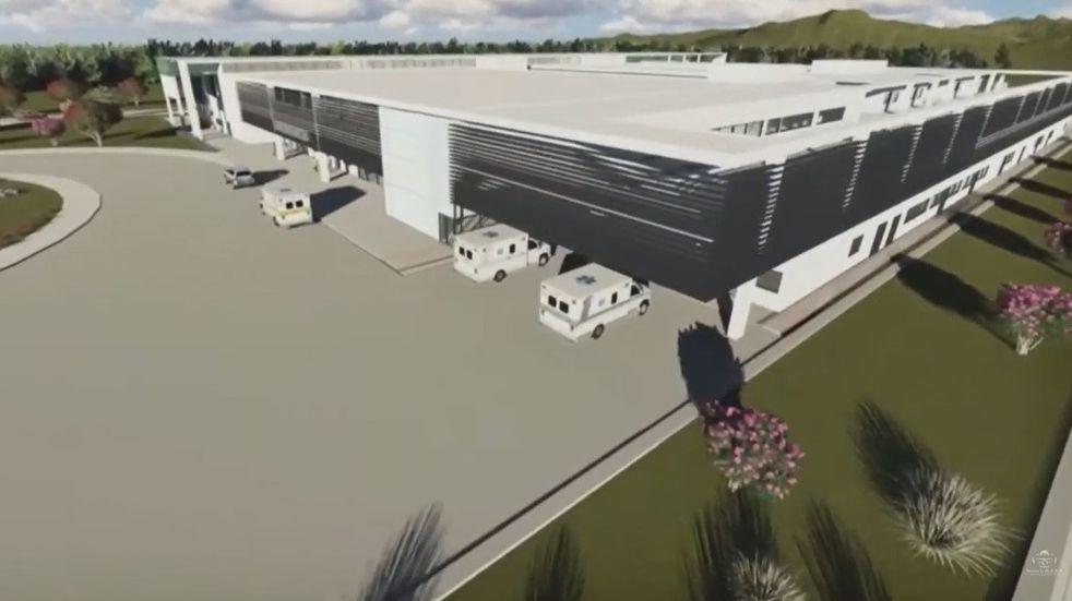 Se puso en marcha la construcción del nuevo hospital regional en Libertador DR. OSCAR ORIAS