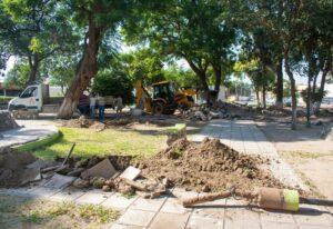 Remodelacion Plaza Ejercito de los Anfes y Sierra Morada $25M