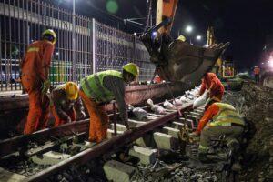 Belgrano Sur: ampliaron el crédito para la obra de modernización del ramal Marinos U$S150M