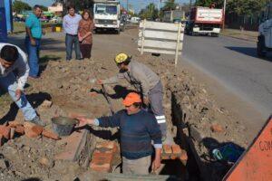 Desagües en Isla del Cerrito Chaco $351M